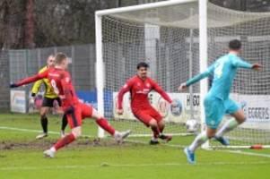 Fussball-Regionalliga : Eintracht Norderstedt verliert Abwehrschlacht