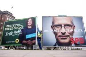 Wahllokale öffnen ab 8 Uhr: Wahl in Hamburg - SPD und Grüne in Umfragen am stärksten