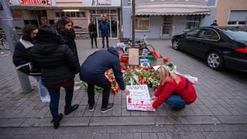 Erneut Demonstration für Opfer von Anschlag in Hanau