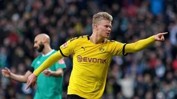 Bundesliga - Vorne Haaland,  hinten stabil: Dortmund bleibt im Titelrennen