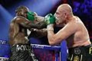 Sieg in der siebten Runde - K.o.-Sieg gegen Deontay Wilder: Tyson Fury ist zum zweiten Mal Box-Weltmeister