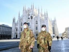 Coronavirus in Italien: Wie ein Land plötzlich zum Erliegen kommt