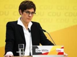 Wahl in Hamburg: Kramp-Karrenbauer ist die CDU entglitten