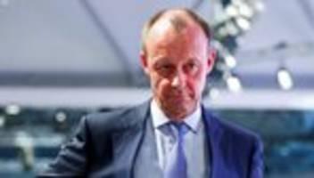 CDU-Vorsitz: Friedrich Merz will für CDU-Vorsitz kandidieren