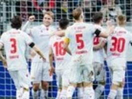 Der 1. FC Union gewinnt bei Eintracht Frankfurt