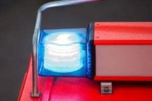 Brände: Mann bei Wohnungsbrand leicht verletzt