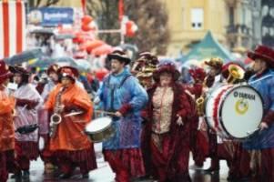 Brauchtum: Trotz Regens: Karnevalveranstalter mit Bilanz zufrieden