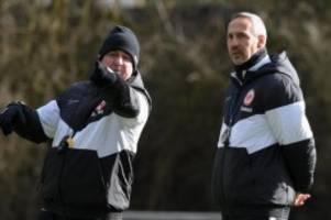 Fußball: Hütter verändert siegreiche Elf gegen Salzburg