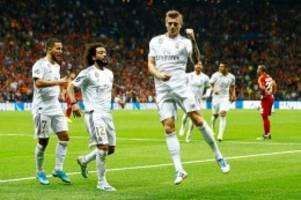Champions League: Real Madrid gegen Manchester City live im TV & Stream