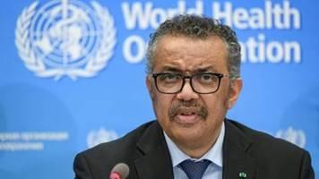 WHO warnt bei neuartigem Coronavirus vor möglicher Pandemie