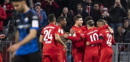 So lief das Spiel zwischen den Bayern und Paderborn