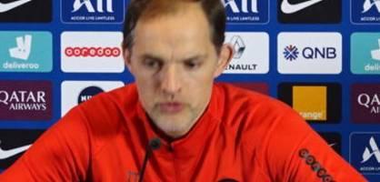 Thomas Tuchel fordert gegen Dortmund eine Reaktion