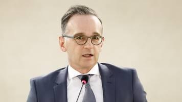 maas und ziemiak betroffen über zwischenfall in volkmarsen