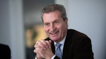 oettinger sieht wachsende rolle der südwest-cdu im bund