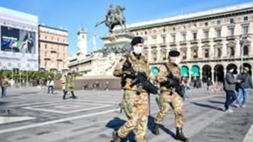 Italien kämpft gegen das Coronavirus