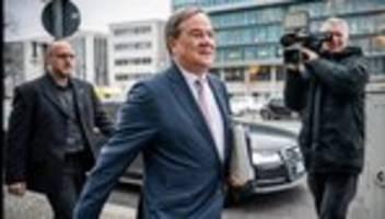 CDU-Vorsitz: Armin Laschet kandidiert als Parteichef, Jens Spahn verzichtet