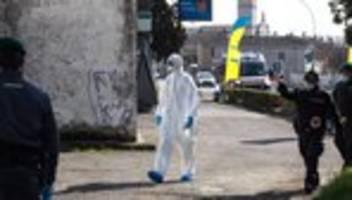 Coronavirus: Italien meldet neue Fälle auf Sizilien, in Südtirol und der Toskana