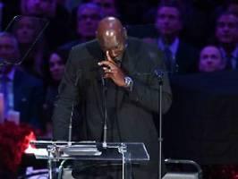 Trauerfeier für NBA-Legende: Das ist, was Kobe Bryant mit mir macht