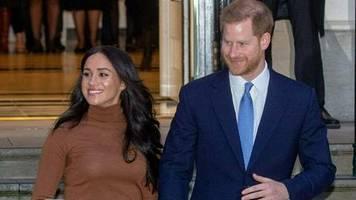 Prinz Harry und Herzogin Meghan: Sicherheitsfrage weiter ungeklärt