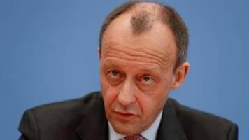 Merz sieht Thüringen-Desaster als Ergebnis von CDU-Führungsschwäche