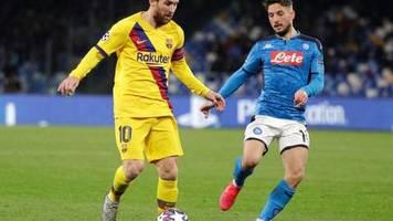 Champions League: Auch dank ter Stegen: Barça erkämpft Remis in Neapel