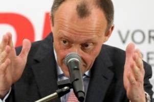 Bewerbung für Spitze: Merz will Kandidatur für CDU-Vorsitz bekanntgeben