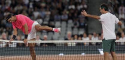 «Big Three»-Gruppe: Federer chattet mit Nadal und Djokovic