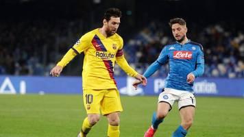 Champions League - Auch dank ter Stegen: Barça erkämpft Remis in Neapel