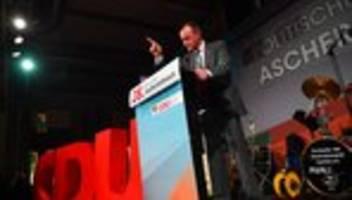 Politischer Aschermittwoch: Die Taufe des Kandidaten Merz
