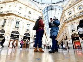 sorge um wirtschaftslage: italien fürchtet rezession durch viruskrise