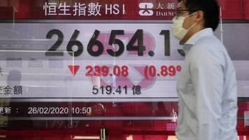 «Helikoptergeld» soll helfen: Hongkong schenkt Bürgern Geld gegen Konjunkturschwäche