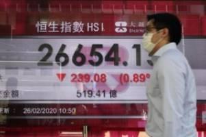 Helikoptergeld soll helfen: Hongkong schenkt Bürgern Geld gegen Konjunkturschwäche