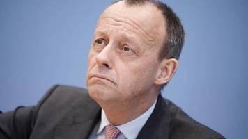 Pressekonferenz: Merz schließt Wechsel ins Kabinett als CDU-Chef aus