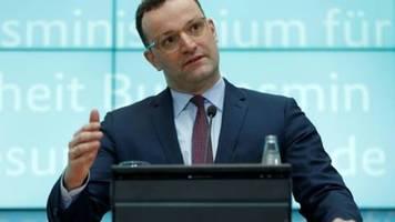 Spahn: Deutschland steht am Beginn einer Coronavirus-Epidemie