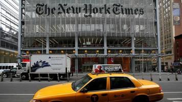 "USA: Trumps Wahlkampfteam verklagt ""New York Times"""