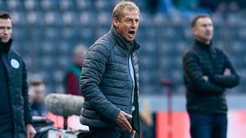 Berlin: Jürgen Klinsmann kritisiert Hertha und Michael Preetz
