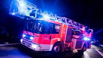 Zwei Verletzte bei Hochhausbrand