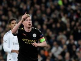 Champions League: Manchester City dreht das Spiel gegen Real