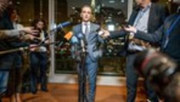 un-sicherheitsrat: maas droht waffenlieferanten im libyen-konflikt