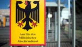 Militärischer Abschirmdienst: Mitarbeiter von AfD-Abgeordnetem als Rechtsextremist eingestuft