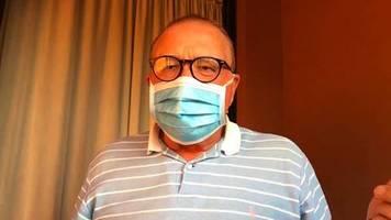 Interview mit Joachim Walter: Teneriffa-Tourist in Coronavirus-Quarantäne: Die Ärzte sahen aus wie Marsmenschen