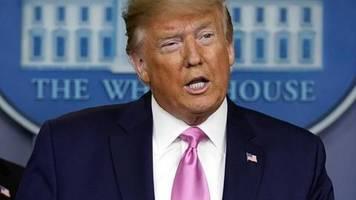 Warnung vor Panik: Trump: USA auf Coronavirus vorbereitet