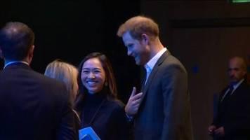 Video: Prinz Harry in Schottland: Abschied vom Job