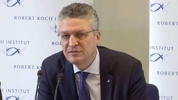 Coronavirus: Leiter des Robert-Koch-Instituts: So gefährlich istdas Virus wirklich
