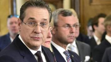 news von heute: ex-fpÖ-chef strache will bürgermeister von wien werden