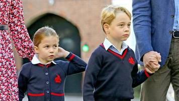 Prinz George und Prinzessin Charlotte: Coronavirus-Verdacht an ihrer Londoner Schule