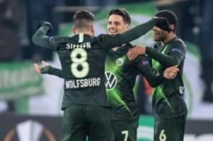 Europa League: Wolfsburg trumpft auf: Nach Sieg in Malmö im Achtelfinale