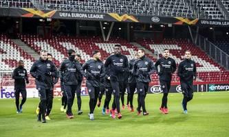 Europa-League-Spiel in Salzburg abgesagt