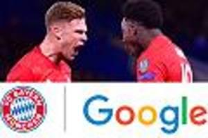 Für Fan-Umfrage - FC Bayern startet Partnerschaft mit Google