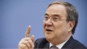 CDU: Armin Laschet wirft Grünen Substanzlosigkeit vor